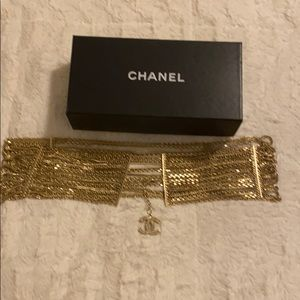 Authentic Chanel Chain- Link CC Belt 34/12 inches